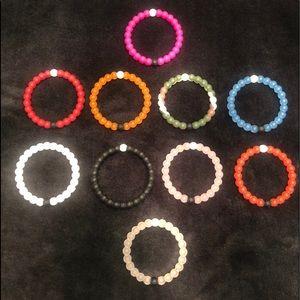 Set of 10 Lokai Balance Bracelets